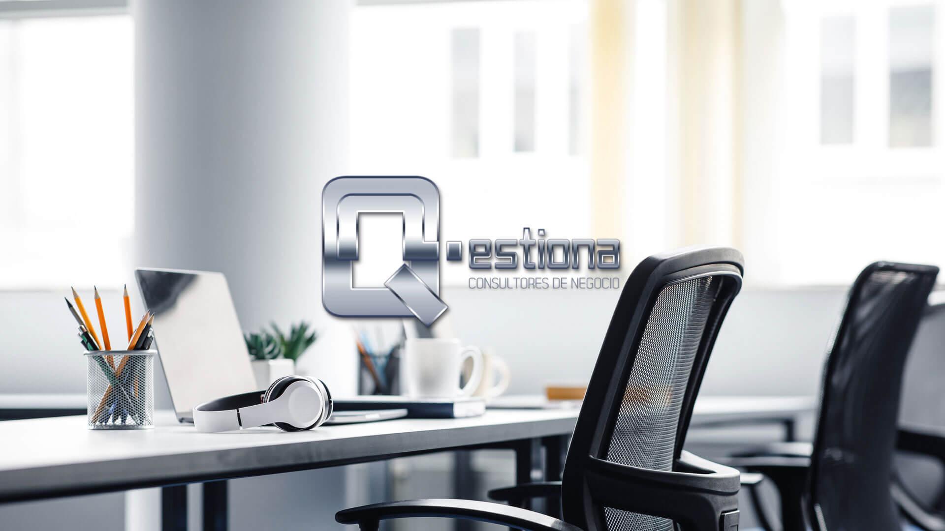 Diseño grafico Qestiona